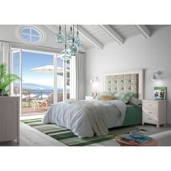 Dormitorio tapizado Cerdeña