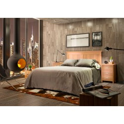 Composición de dormitorio...