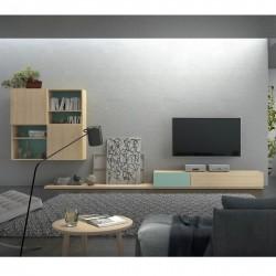 Salón de diseño minimalista