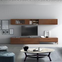 Mueble de diseño en madera