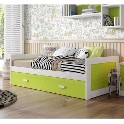 Cama Coral con cama nido...