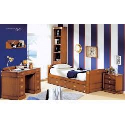 Dormitorio con despacho...