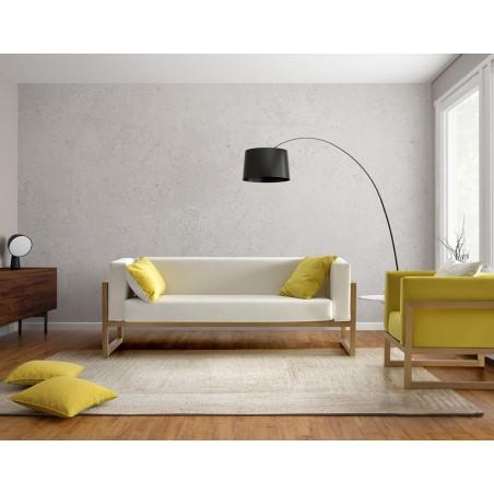 Sofá de diseño 3 plazas en madera maciza