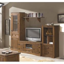 Salón rústico 250 madera...