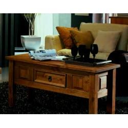 Mesa centro rústica madera...