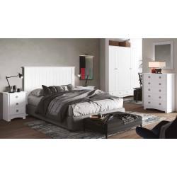 Dormitorio completo Blanco...