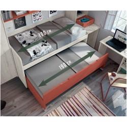 Compacto 2 camas 105x190...