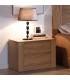 dormitorio chapado en roble natural