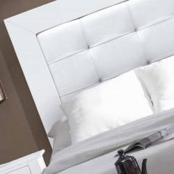 Dormitorio tapizado linea provenzal con cómoda