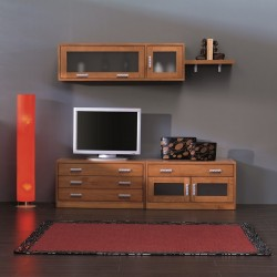 Modular para tv madera...