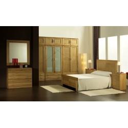 Dormitorio de madera maciza...