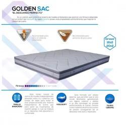 Golden Sac tapizado tejido...