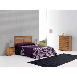 Dormitorio rústico...