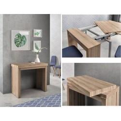 Mesa consola con cuatro...