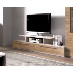 Mueble tv Curve dos cajones