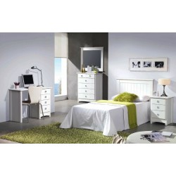 Dormitorio individual...