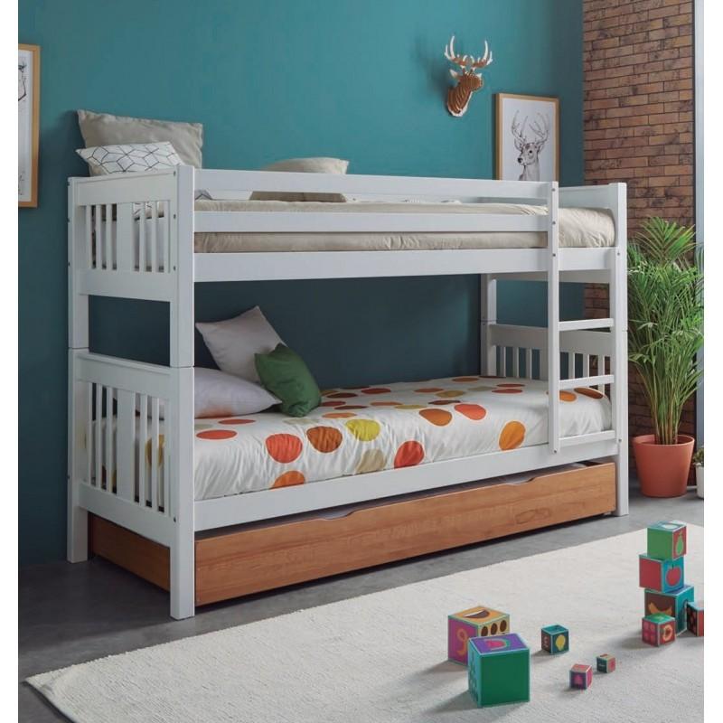 Litera clásica 3 camas