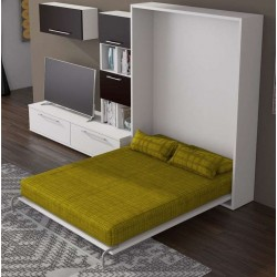 Cama abatible vertical multimedida